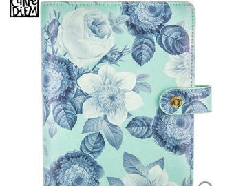 Mint Vintage Floral Carpe Diem Planner - SmallPlanner Agenda