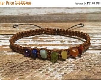 SALE Chakra Healing Bracelet / Yoga Bracelet / Chakra Bracelet / Chakra Jewelry / Chakra / Balance