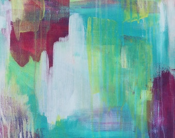 Abstract Wall Art Print - Summer Nightingale 2 // Artist Charlie Albright // Blog Moments by Charlie | Modern Abstract Art Print