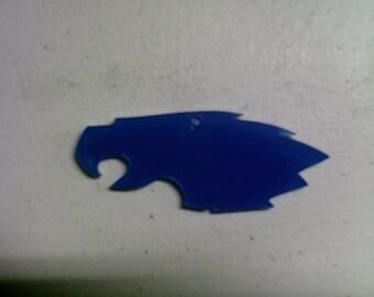 5 acrylic PHILLY EAGLE key chain blanks