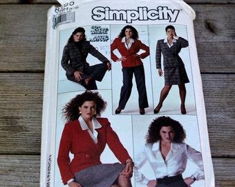 Vintage Simplicity Dress Pattern 8295 Size HH (6-12)