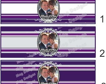 Custom Cigar Bands - Photo Cigars - Bride and Groom Cigar Labels for Weddings, engagements or special events!