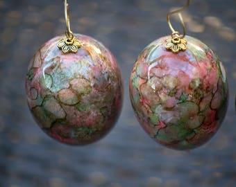 Champagne Gold Egg Christmas Ornament