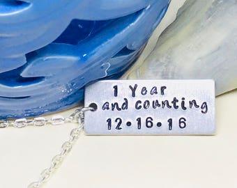 Happy One Jahr Jubiläum Freund