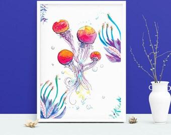 Poster -  Medusa - illustration