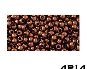 COPPER (224): 11/o Toho Japanese Seed Beads (10 grams)