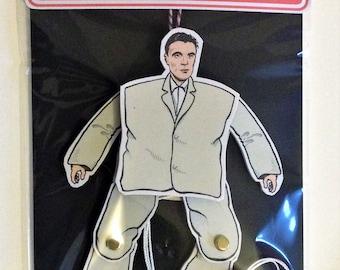 David Byrne ( Talking Heads ) 'Jumping Jack' Puppet Toy Gift - Stop Making Sense Big Suit