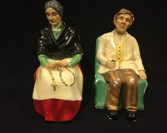 Terratex Collectible Grandma and Grandpa Collectable Figures Catholic
