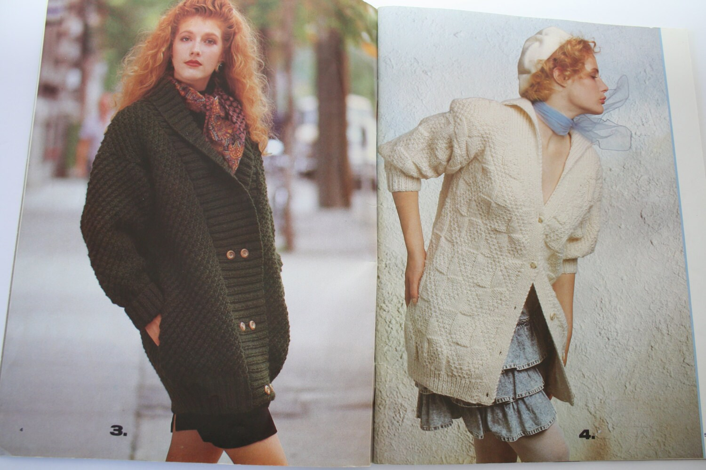 Jacket and Coat Knitting Patterns, Beehive Patons Knitting Book, 519 ...