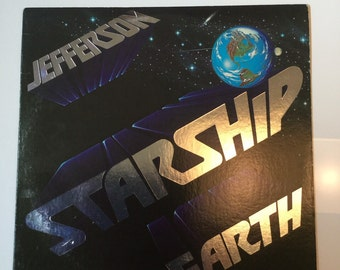 Jefferson Starship 1976 Earth on Grunt Records