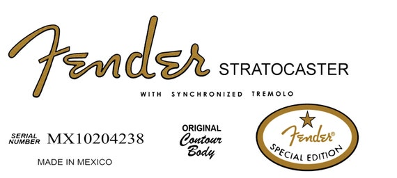 two fender special edition 60s stratocaster headstock decals wiring diagram of fender stratocaster wiring diagram for fender stratocaster
