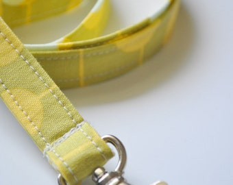 Fabric Lanyard for ID badge, keys in Amy Butler Midwest Modern Martini Moss