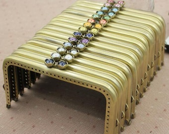 15cm purse frame purse clasp clutch frame metal purse frame purse making supplies wholesale.1pcs(hw)