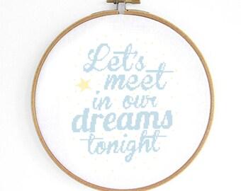 Dreams Cross Stitch Pattern