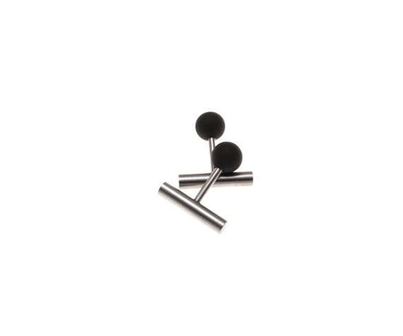 Cefalu' Cuff Links Stainless Steel and Lava