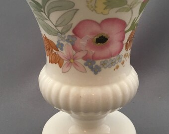 "Wedgwood Meadowsweet 5"" High Footed Vase."