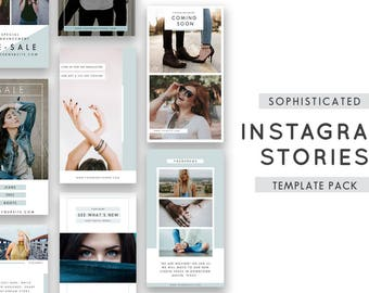 Instagram Stories Templates for Photographers - Instagram Templates - Instagram Story Template