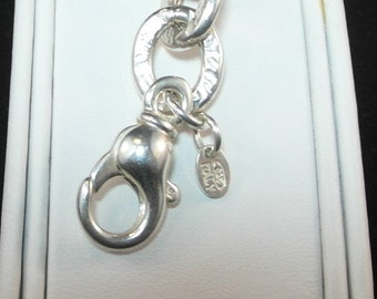 Couture Style Sterling Silver Bracelet