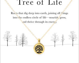 Tree of life meaning etsy tree of life 14k gold filled mozeypictures Choice Image