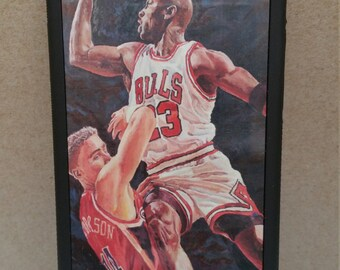 iPhone 6 Case   Turchinskiy Dmitriy- Jordan Flight I   Limited Edition   Hand-Signed and Numbered   Michael Jordan   Fine Art   New   NBA