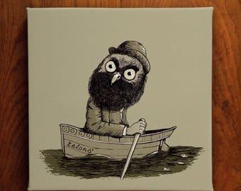 Monsieur Owl - Edition of 5