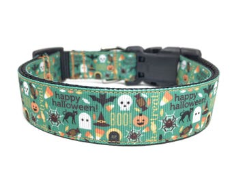Halloween Dog Collar Adjustable