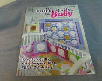 Quilting Patterns, Cutest Quilts for Baby, Trice Boerens, Quilts, Crib Bumpers, Bibs, Pillow, Tote Bag, 2007