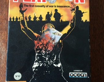 Platoon by Data East - 1987 - for Commodore 64/128 COMPLETE