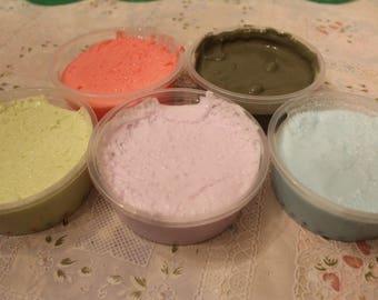 Homemade Fluffy Slime various colors Ava's Slime