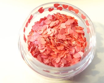 l<3ve is all you need glitter mix pot