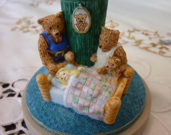 Vintage Cookie Mold - Brown Bag Cookie Art Press - Goldilocks and the Three Bear Form - Cookie Art from 1997 ~ Fairy Tales No 3