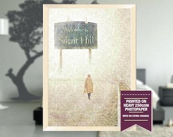 Silent Hill movie, fanart, silent hill, silent hill print, silent hill poster, silent hill art, best posters, cool prints, cool art