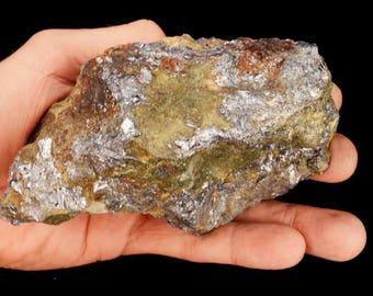 "Molybdenite 5"" x 3"" 1 Lb 14 Oz (SKU 05) Raw Rocks and Minerals All Chakra Healing Crystals and Stones Raw Reiki Stones Mineral Specimen"