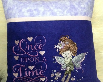 Fairy reading pillow