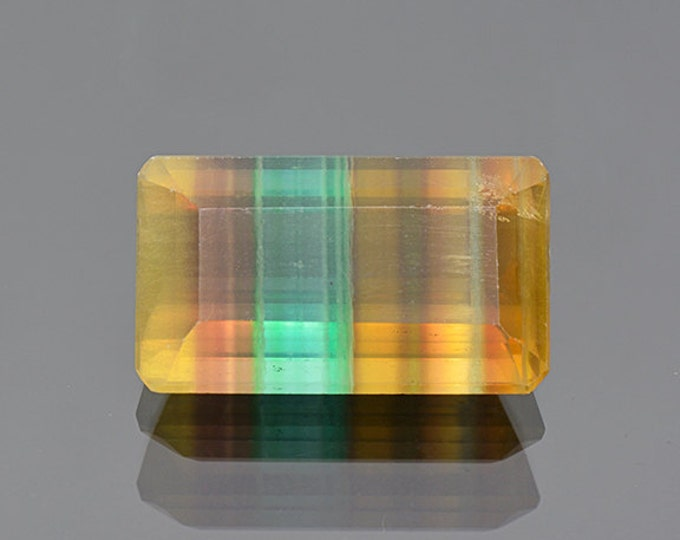 Excellent Banded Fluorite Gemstone from Argentina 33.04 cts.