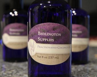 MCT Fractionated Coconut Oil, 8 oz Bottle