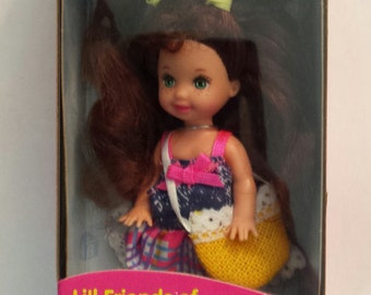 Vintage Chelsie Kelly Barbie little Friends