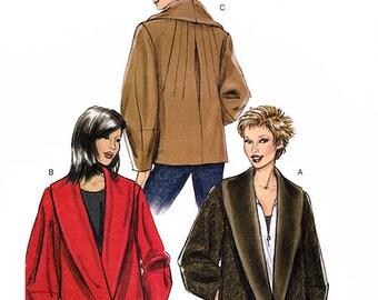Vogue V8431 Sewing Pattern for Misses' Jacket - Uncut - Sizes 6-8-10