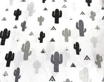 Coupon fabric cactus 50 x 70 cm