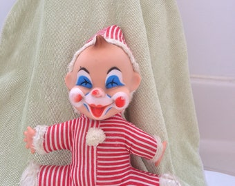 1950 vintage Mego Corporation Baby Clown Doll