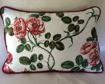 Cabbage Rose Pillow Covers 20 x 14