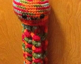 Crochet Multicolored Jellyfish