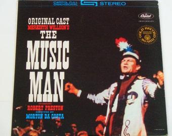 "The Music Man - Original Broadway Cast Album - Robert Preston - Morton da Costa - ""76 Trombones"" - Capitol RE - Vintage Vinyl LP Record"