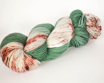 Cinnamon Pine - Hand Dyed DK Weight Yarn 100% Superwash Merino Wool