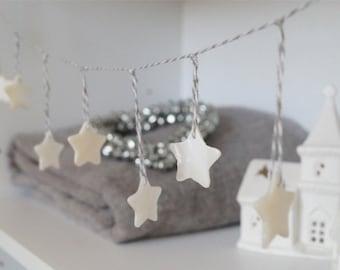 Shell Star Garland