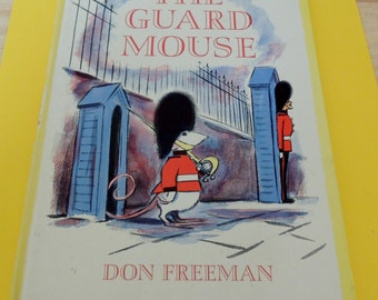 The Guard Mouse Don Freeman 1967 1st Edition