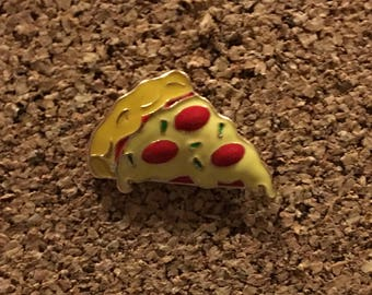 Cute Pizza Enamel Pin