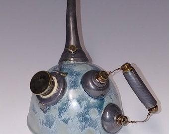 Handmade Ceramic Oil Can #1118