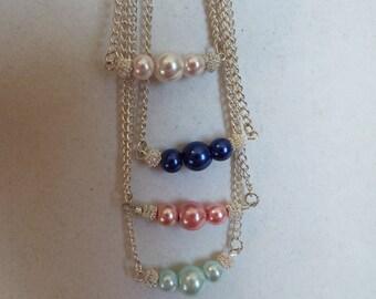 "Pearl Necklaces  18"""
