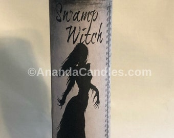 Hoodoo Swamp Witch Fixed 7 Day Candle Witchcraft Metaphysical